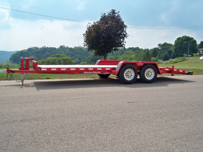 Flatbed Trailer Rentals Iowa